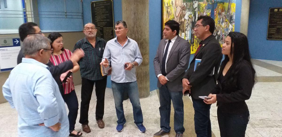 Entidades sindicais mobilizam ato para dia 16 no Palácio da Abolição
