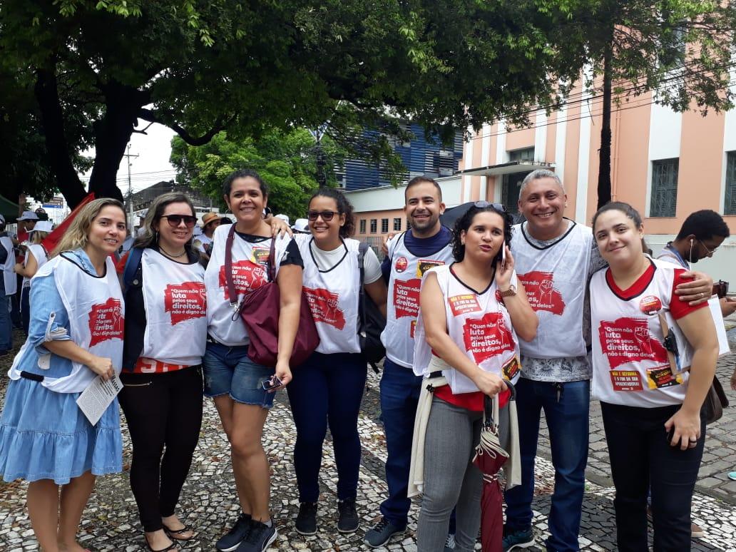 Sinsempece vai às ruas contra a Reforma da Previdência
