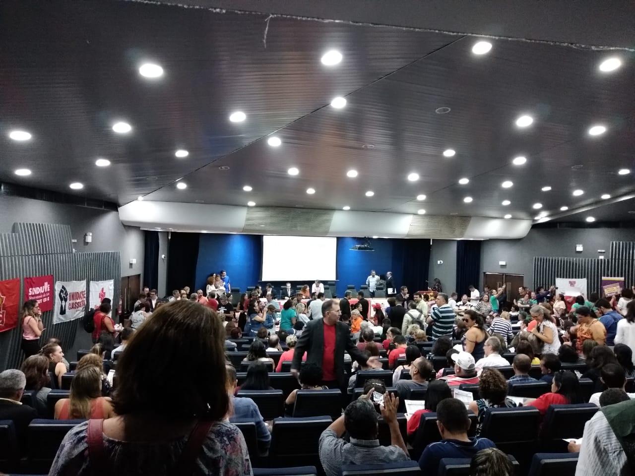 SINSEMPECE integra movimento contra a aprovação da Reforma da Previdência Estadual