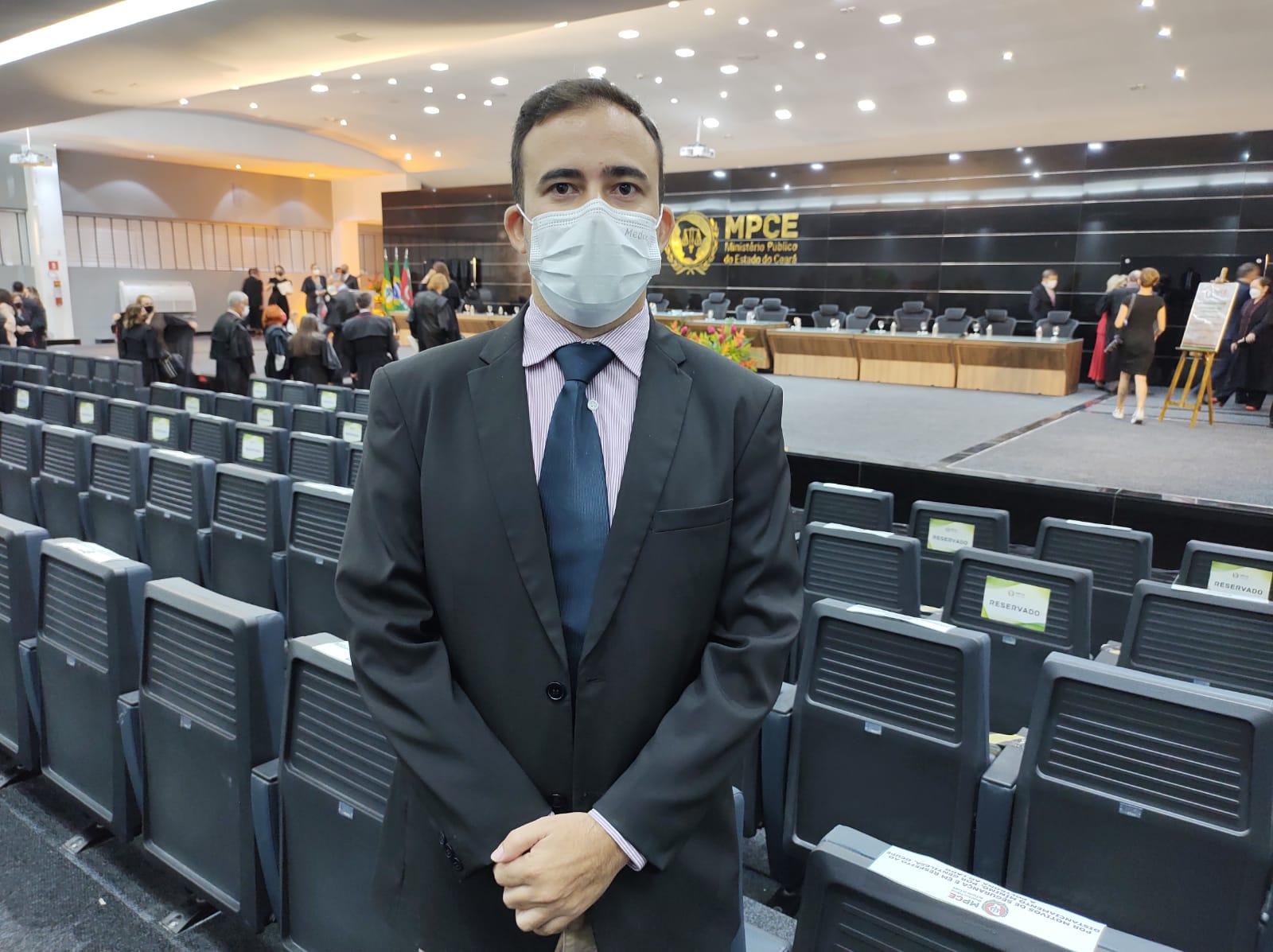Sinsempece participa de solenidade de inauguração da nova sede do MPCE